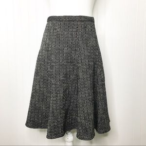 Banana Republic Tweed Fit and Flare Skirt Size 4